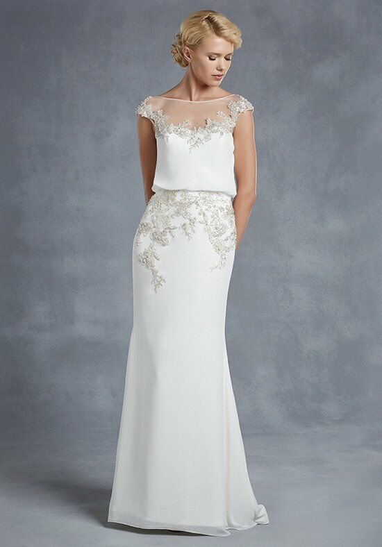 Blue by Enzoani Harlem Sheath Wedding Dress