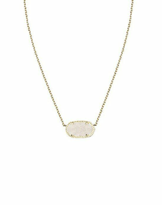 Kendra Scott Elisa Necklace in Iridescent Drusy Wedding Necklace photo