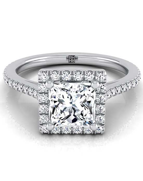 RockHer Classic Princess Cut Engagement Ring