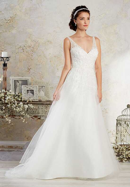 Alfred Angelo Modern Vintage Bridal Collection 8572 A-Line Wedding Dress