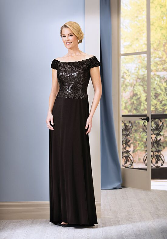 Jade J185070 Black Mother Of The Bride Dress