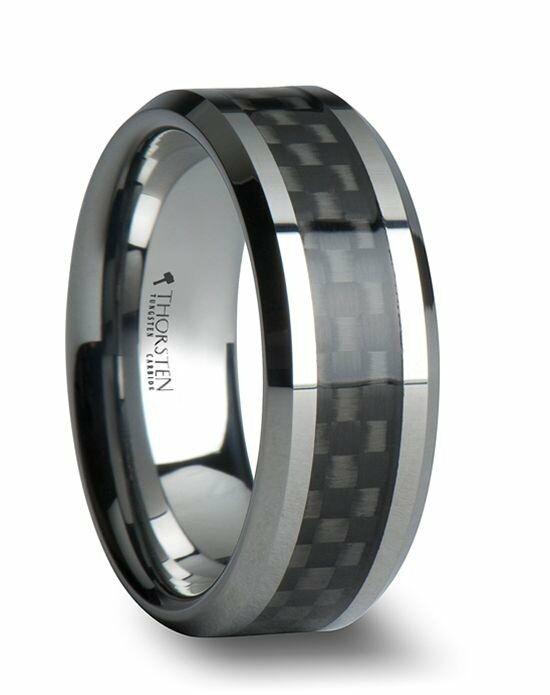 larson jewelers maximus black carbon fiber inlay tungsten