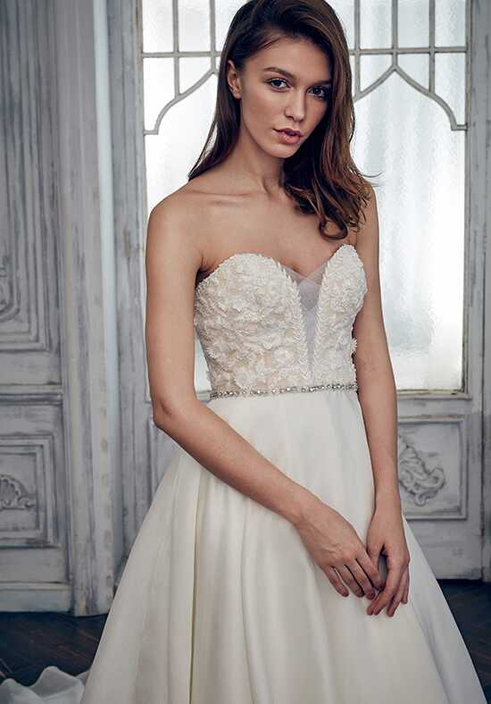 Calla Blanche 17129 Maddison A-Line Wedding Dress