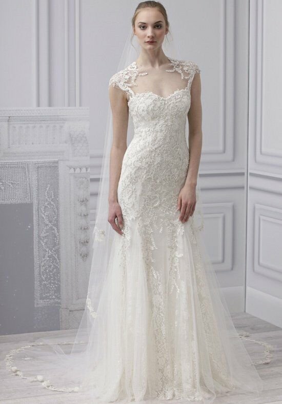 Monique Lhuillier Radiance Sheath Wedding Dress