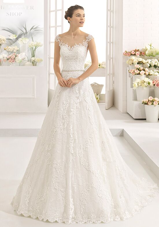 Aire Barcelona Calix A-Line Wedding Dress