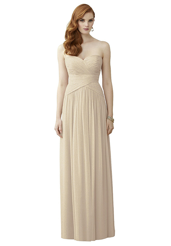 Dessy Collection 2960 Strapless Bridesmaid Dress
