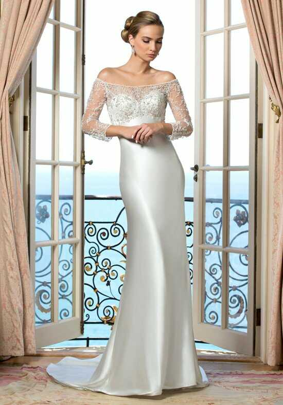 KITTYCHEN Couture HELENA, H1434 Sheath Wedding Dress