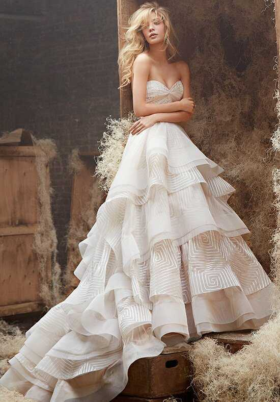 Hayley Paige 6400 - Lana Ball Gown Wedding Dress