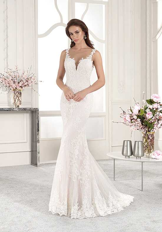 Demetrios 831 Mermaid Wedding Dress
