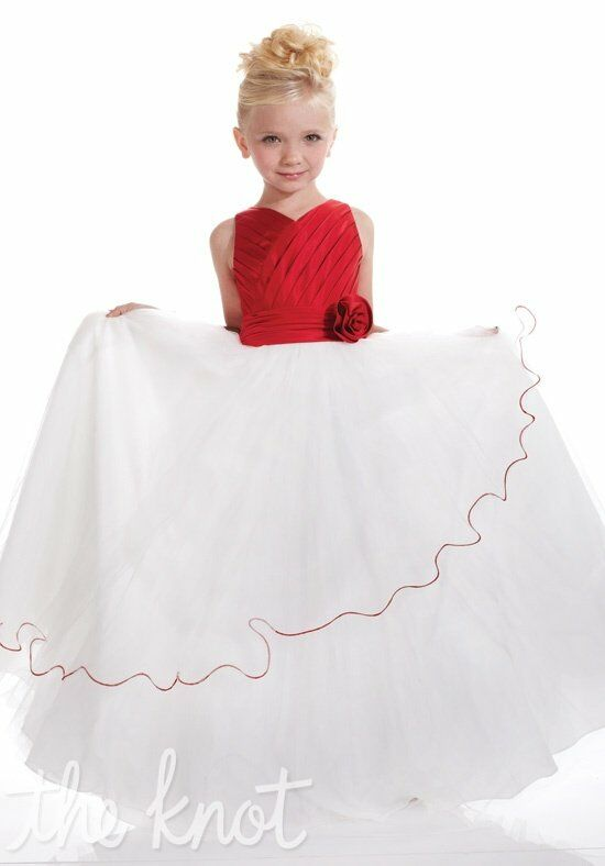 Pretty Girls 53110 Red Flower Girl Dress