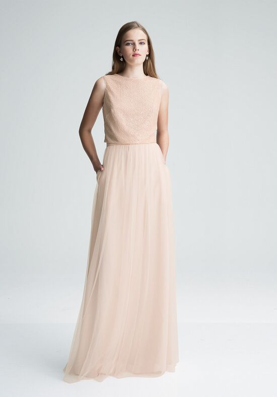 Bill Levkoff 1426 Square Bridesmaid Dress