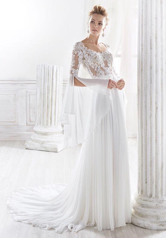 Wedding dress empire line 2018