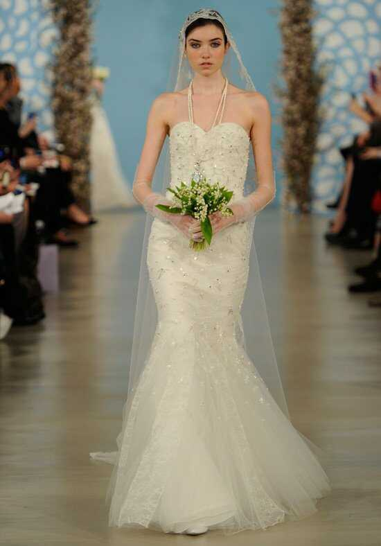 Oscar de la Renta Bridal 2014 Look 19 Mermaid Wedding Dress