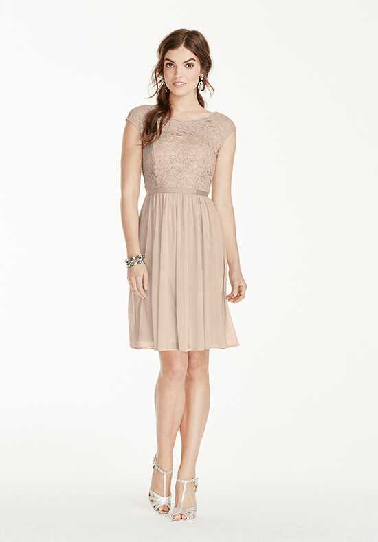 David's Bridal Collection David's Bridal Style F17019 Illusion Bridesmaid Dress