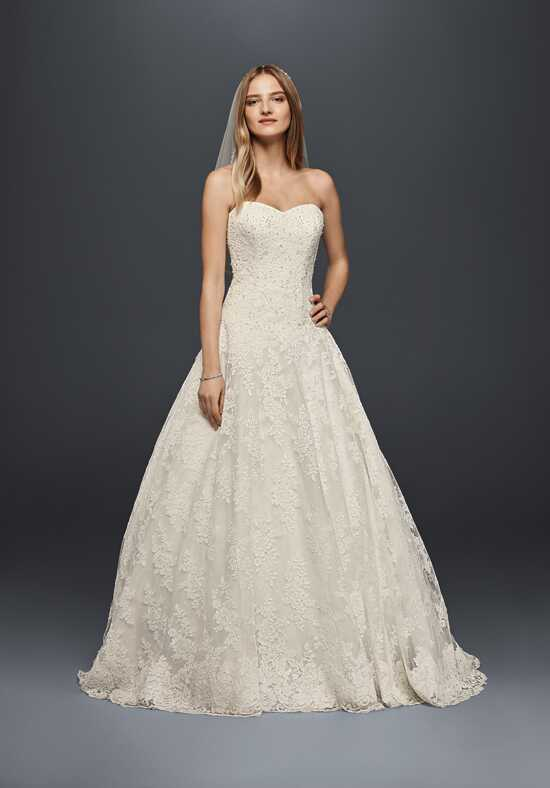 David's Bridal Jewel Style WG3841 Ball Gown Wedding Dress