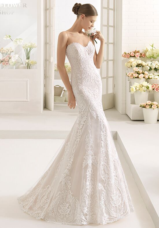 Aire Barcelona Caeli Mermaid Wedding Dress