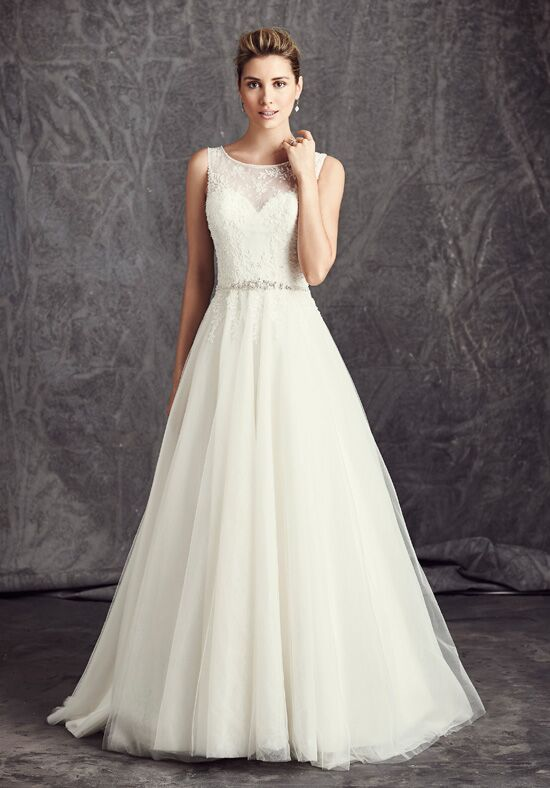 Kenneth Winston: Ella Rosa Collection BE290 Ball Gown Wedding Dress
