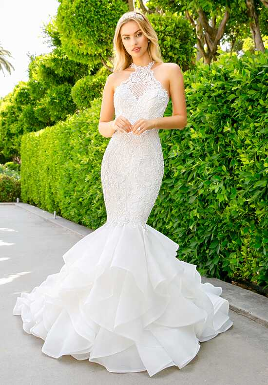 Moonlight Couture H1347 Mermaid Wedding Dress