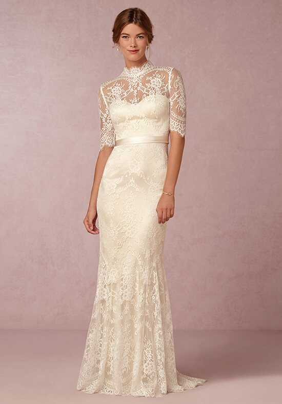 BHLDN Bridgette Gown Sheath Wedding Dress