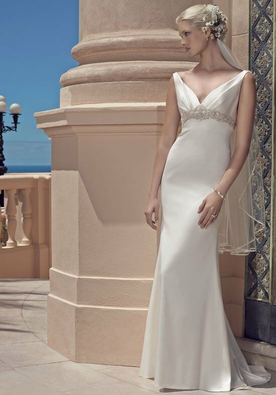 Casablanca Bridal 2200 Sheath Wedding Dress