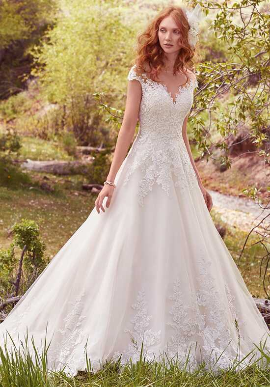 Maggie Sottero Lena Ball Gown Wedding Dress