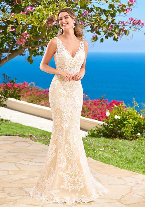 KITTYCHEN Couture SHAYNA, H1634 Sheath Wedding Dress