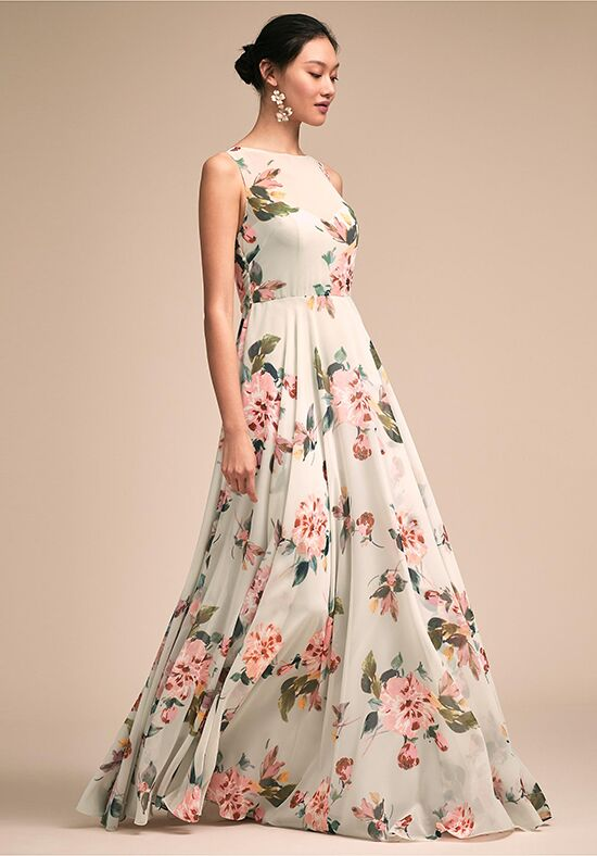 BHLDN (Bridesmaids) Liz Dress Bateau Bridesmaid Dress