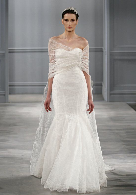 Monique Lhuillier Intrigue Gown Wedding Dress