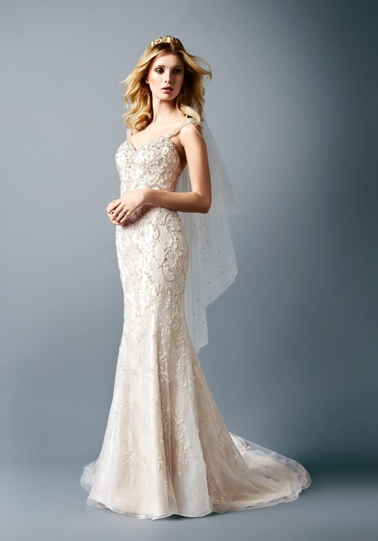 Val Stefani D8117 Mermaid Wedding Dress