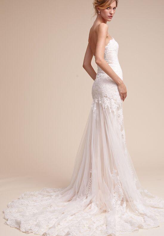 bhldn leigh wedding dress the knot