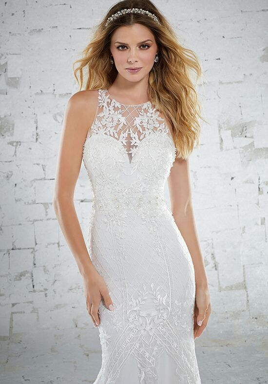Morilee by Madeline Gardner/Voyage Kristen/6884 Sheath Wedding Dress
