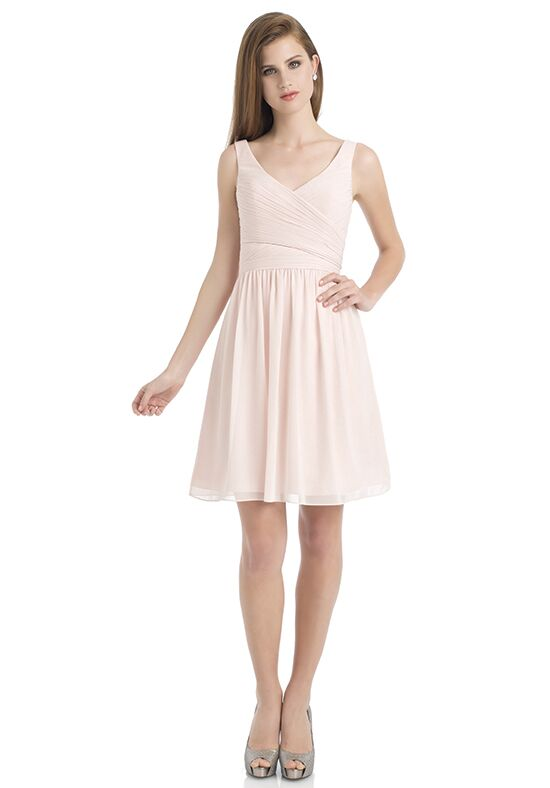 Bill Levkoff 725 V-Neck Bridesmaid Dress