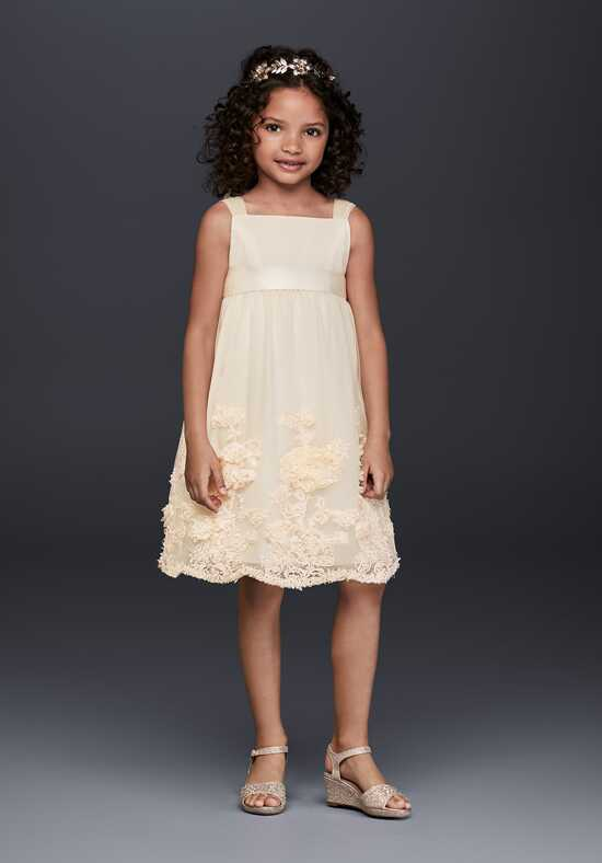 David's Bridal Flower Girl OP238 Flower Girl Dress