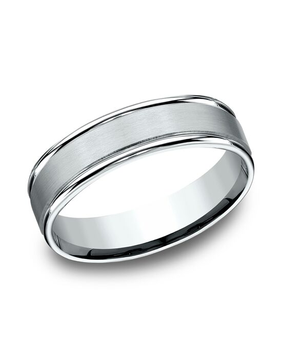 Benchmark RECF7602SW White Gold Wedding Ring