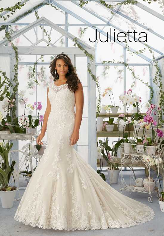 Morilee by Madeline Gardner/Julietta 3194 Sheath Wedding Dress