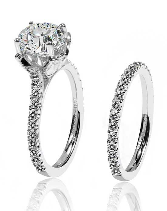 Daviani Love Links Collection DCR1121 White Gold Wedding Ring
