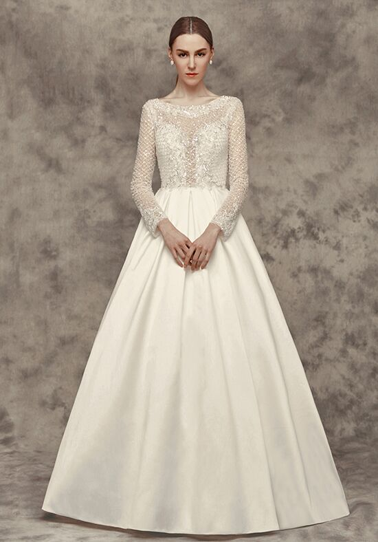 Calla Blanche 16258 Aimee A-Line Wedding Dress