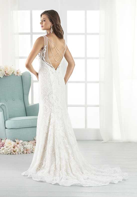 Bonny by Bonny Bridal 803 Sheath Wedding Dress