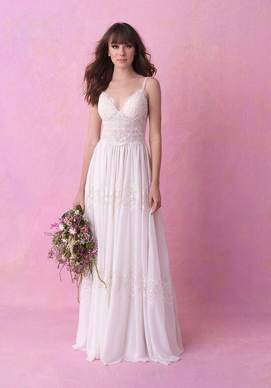 4a57cf01180fb Chiffon Wedding Dresses | The Knot