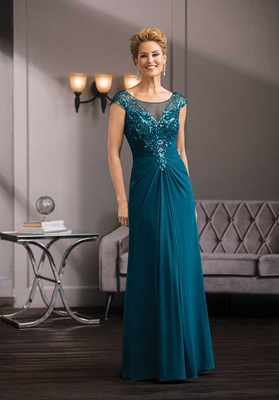 Jade Couture K188060 Green Mother Of The Bride Dress