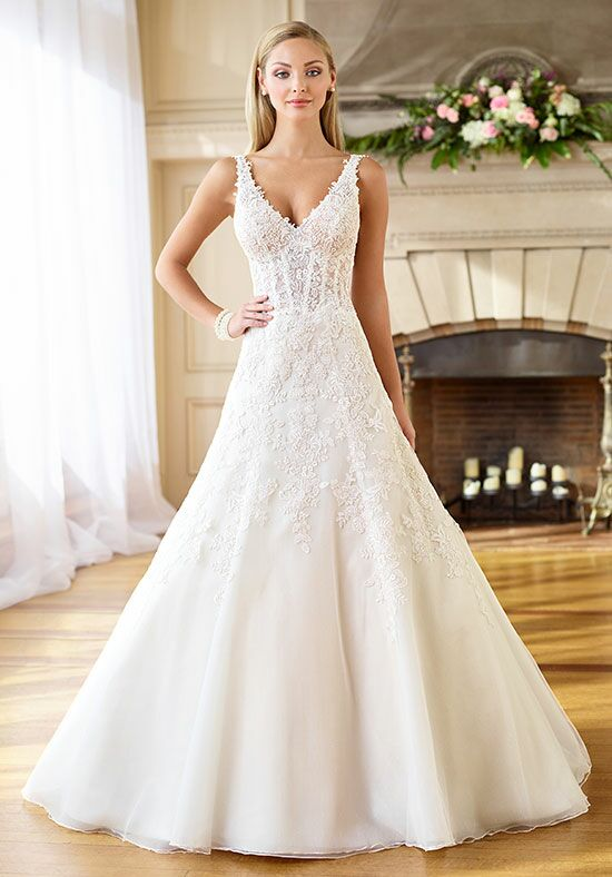 Enchanting by Mon Cheri 218179 A-Line Wedding Dress