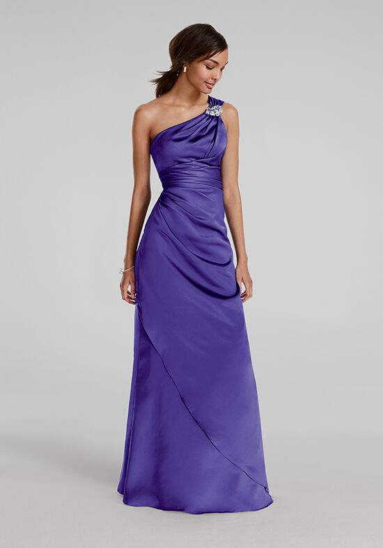 David's Bridal Collection David's Bridal Style F15940 One Shoulder Bridesmaid Dress