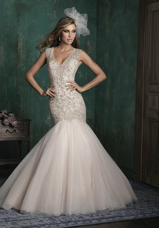 Allure Couture C343 Mermaid Wedding Dress