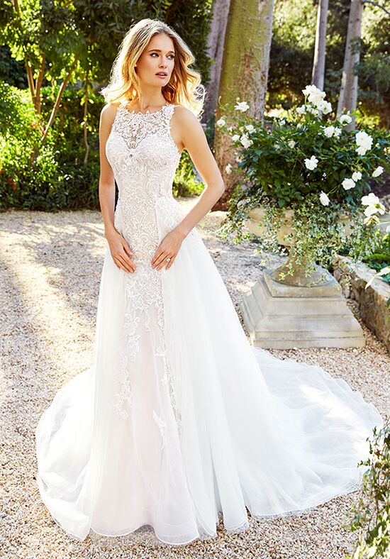 Moonlight Couture H1353 Mermaid Wedding Dress