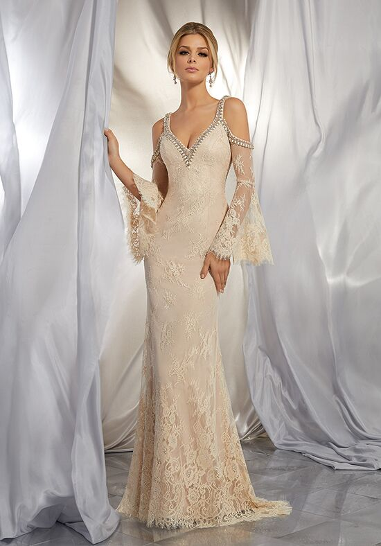 Morilee by Madeline Gardner/Voyage Marion | Style 6865 Sheath Wedding Dress