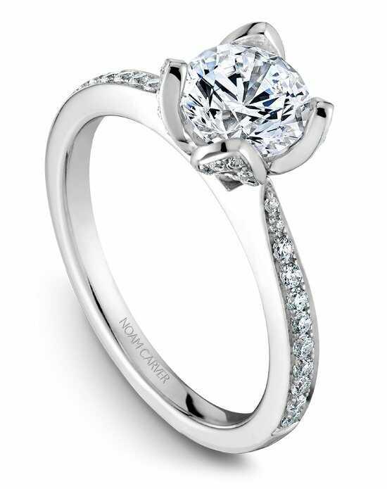 noam carver - Round Wedding Rings