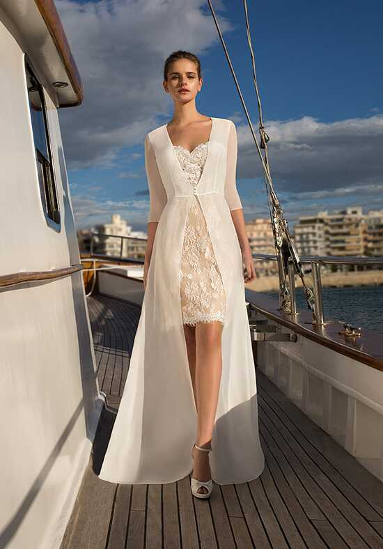 Destination Romance DR256 Sheath Wedding Dress