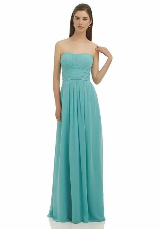 Bill Levkoff 332 Strapless Bridesmaid Dress