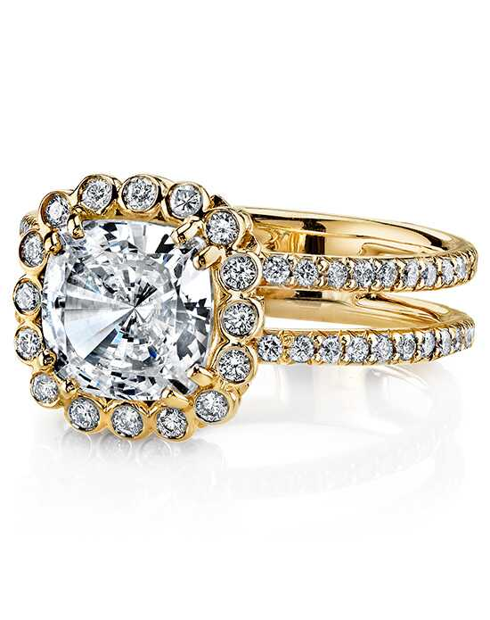 Erica Courtney Gorgeous & Engaged Elegant Cushion Cut Engagement Ring