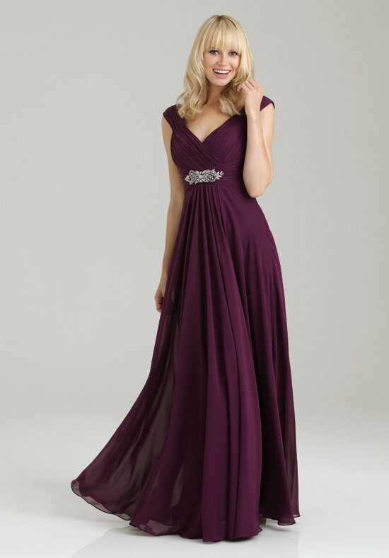 Allure Bridesmaids 1334 V-Neck Bridesmaid Dress